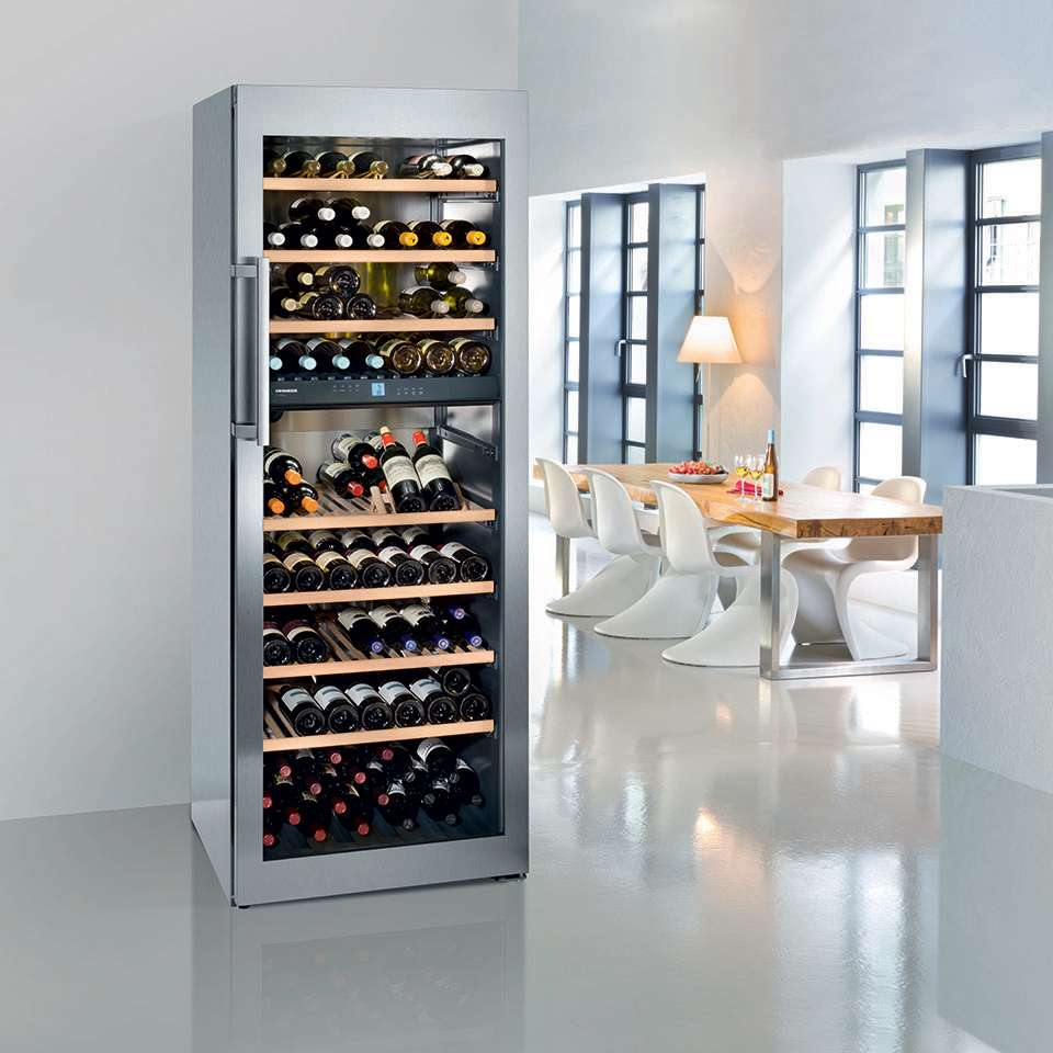 Custom wine cooling systems